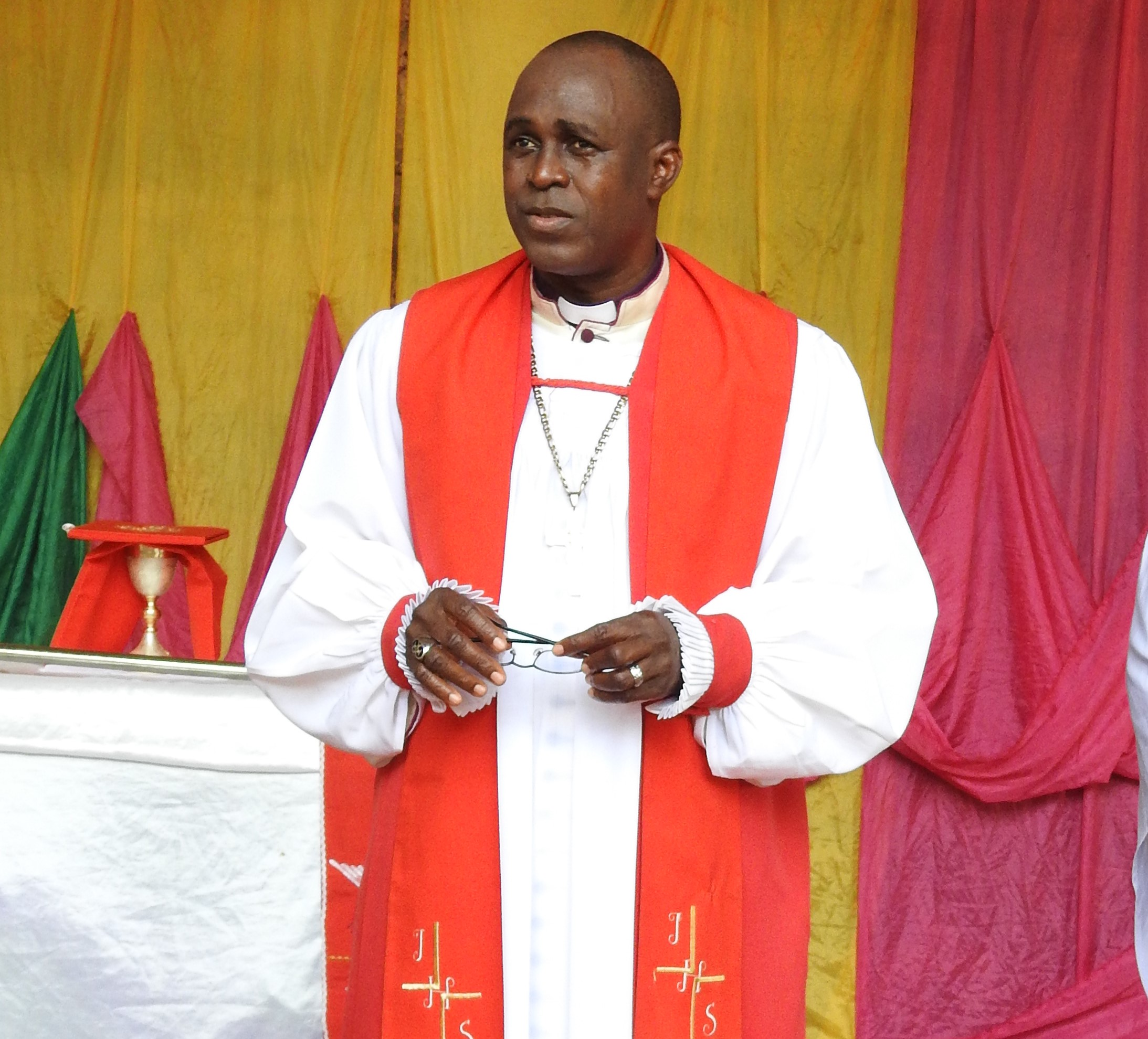 Bishop Agbo on missions